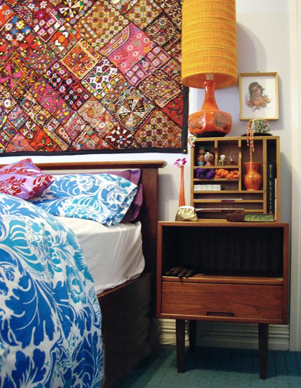 Decoracao Sala Hippie ~ Tapete nas paredes – Uma das referências mais fortes desse tipo de