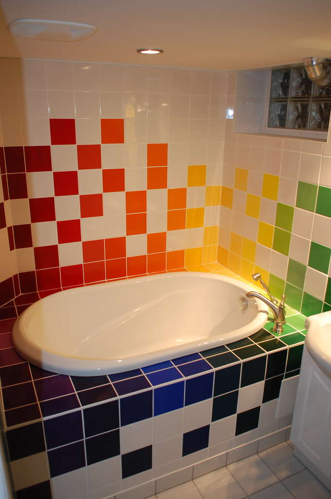 Azulejos coloridos blog de decora o fa a voc mesmo - Azulejos de colores ...