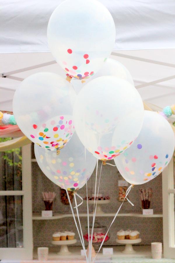 Ideia festiva – balões