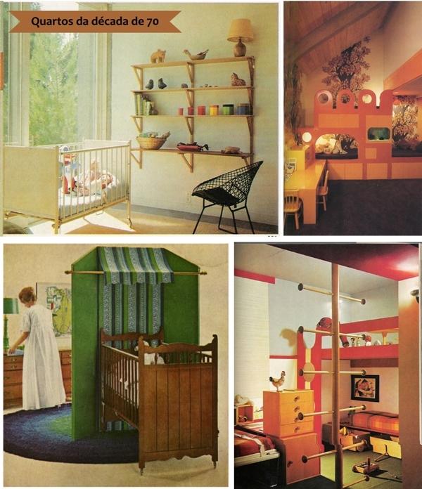 Decoração de quartos de bebês vintage Blog de  ~ Quarto Pequeno Vintage
