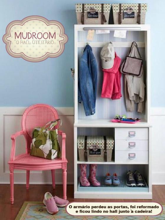 Mudroom hall de entrada utilit rio blog de decora o fa a voc mesmo casa de firulas - Diy tips home window cleaning ...
