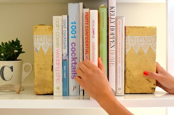 Artesanato Com Madeira Pregos E Linha ~ aparadores de livros Archives Blog de decoraç u00e3o faça voc u00ea mesmo Casa de Firulas