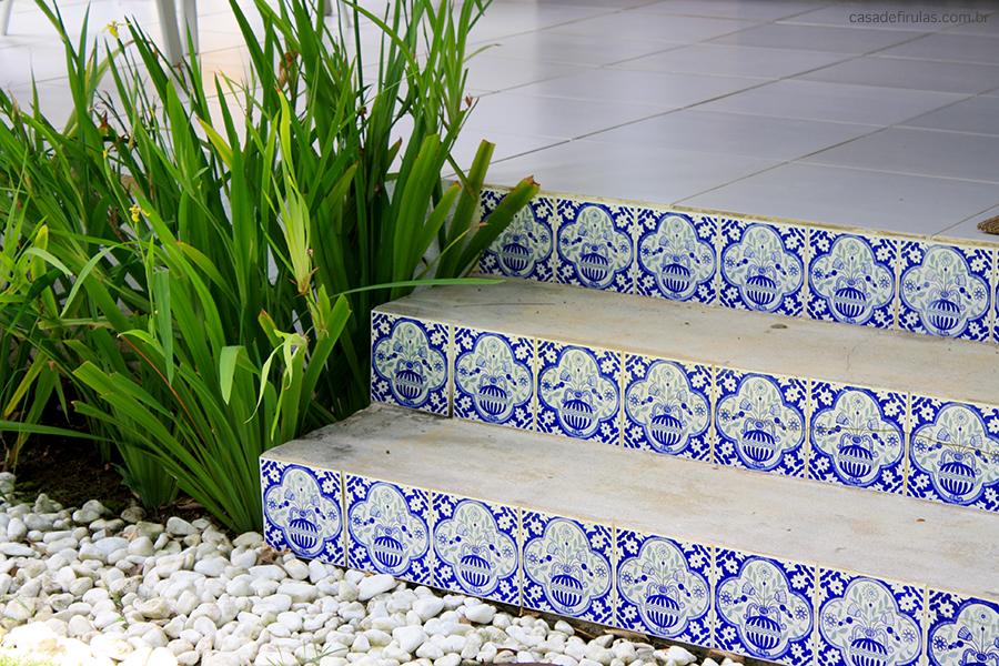 azulejos no batente