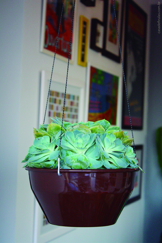 Como fazer uma floreira suspensa em casa for Como criar peces ornamentales en casa