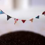 DIY – Como fazer bandeirolas para enfeitar bolos