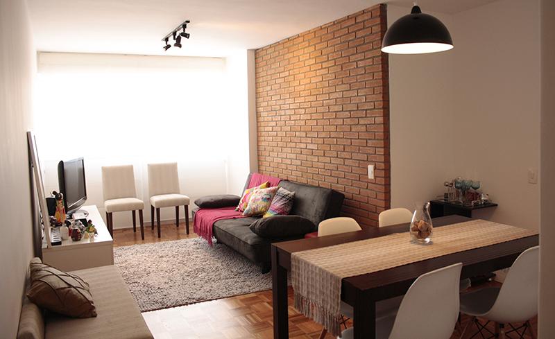 decoracao de sala retangular simples:de Firulas Visita – A sala de Ingrid – Blog de decoração – Casa de