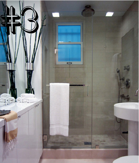 #5 Ideias para um banheiro pequeno  Blog de decoração faça você mesmo  Casa -> Lustres Banheiro Pequeno