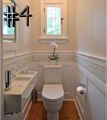 #5 Ideias para um banheiro pequeno  Blog de decoração faça você mesmo  Casa -> Banheiro Pequeno Onde Colocar A Lixeira