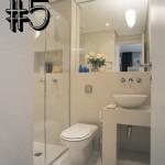#5 Ideias para um banheiro pequeno