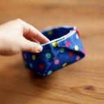 Como fazer cesto de feltro – DIY