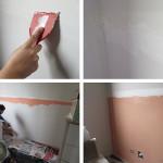 Casa de Firulinhas – o quarto da bebê e uma dica para pintar listras na parede