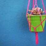 DIY – Como fazer um pendurador de vasos