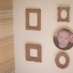 DIY – Faça você mesmo – Porta-retrato no bastidor com tecido