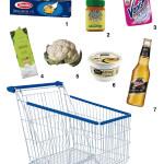Por dentro do carrinho do supermercado