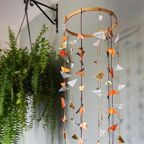 Tem Na Web - DIY: Como fazer um pendente boho decorativo